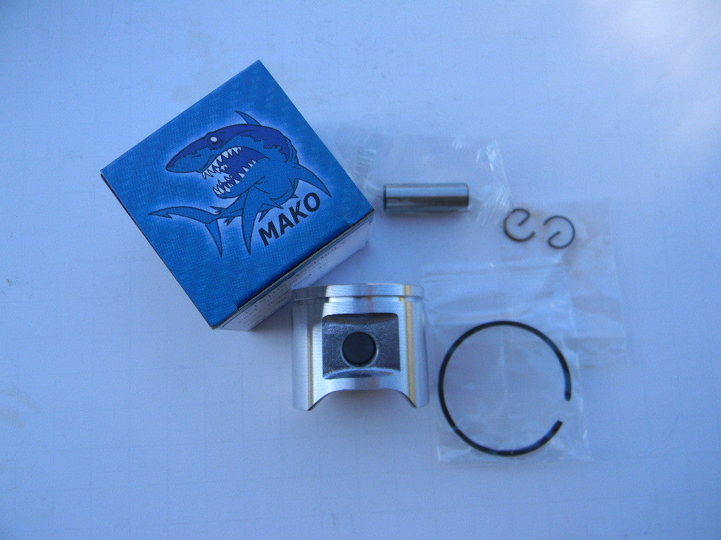 TLHU0043 PISTON ASSEMBLY =42MM: Jonsered  2045, RS 44 Husqvarna 45  OEM = 503-441002