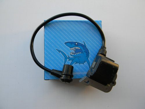 TLHU0149 IGNITION MODULE / COIL : Jonsered  625, 630, 670, 2054, 2055, 2094,2095  / Husqvarna 40, 45, 50, 51, 55, 61, 257, 261, 262, 266, 268, 272.  OEM=544-018401, 503-620202, 503-620203, 503-901401, 506-169002
