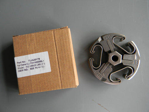 TLHU0176 CLUTCH ASSEMBLY : Jonsered  600 - SERIES 625, 630, 670 SII / Husqvarna 61, 266, 268, 272 :  OEM = 503-744402