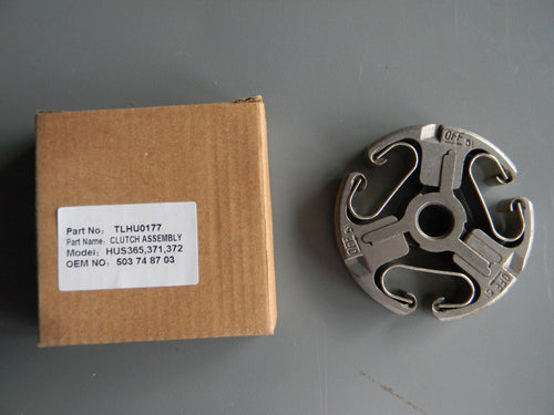 TLHU0177 CLUTCH ASSEMBLY : Jonsered 2063, 2065, 2071, 2163, 2165, 2166, 2171, 2172 Husqvarna 362, 365, 371, 372 OEM = 503-744401, 586-798401, 586 79 84-01