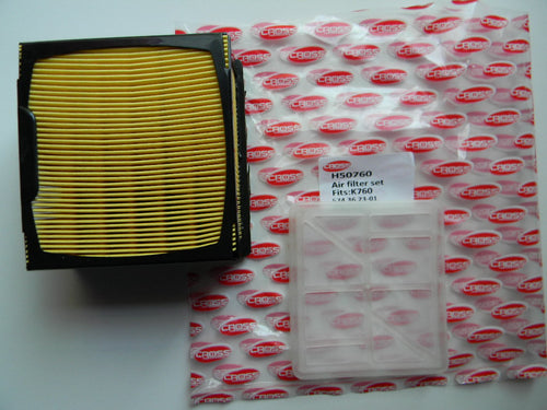 THH50760 AIR FILTER KIT: HUSQVARNA / PARTNER K760 AIR FILTER COMBO KIT : OEM = 574-362301