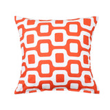 """Bainz"" Coral Throw Pillow Cover"
