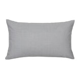 Solid Light Gray Accent / Throw Pillow Cover