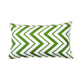 Ziggy Green Chevron Decorative Throw Pillow Cover