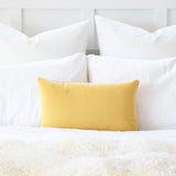 Solid Mustard Yellow Accent / Throw Pillow Cover