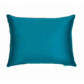 Sateen Teal / Turquoise Sham Pillow Case