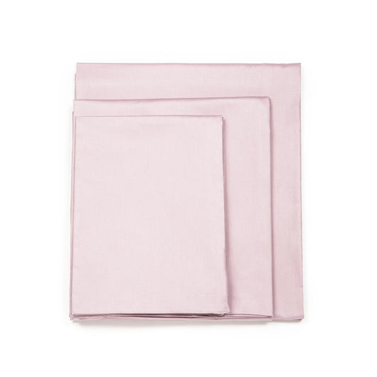 Cotton Solid Light French Pink 4PCS Sheet Set