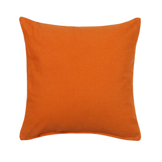 Solid Persimmon Orange Accent / Throw Pillow Cover