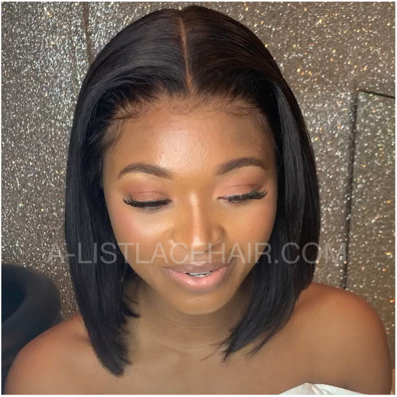 The BERNI Unit - Glueless Lace Wig - Short Bob Cut - Silky Straight