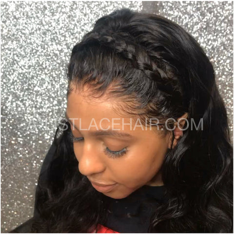 The PAULINE - Glueless Full Lace Wig - Light Yaki Straight