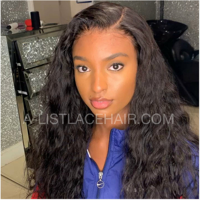 The MAY - Glueless Full Lace Wig Ocean Wave