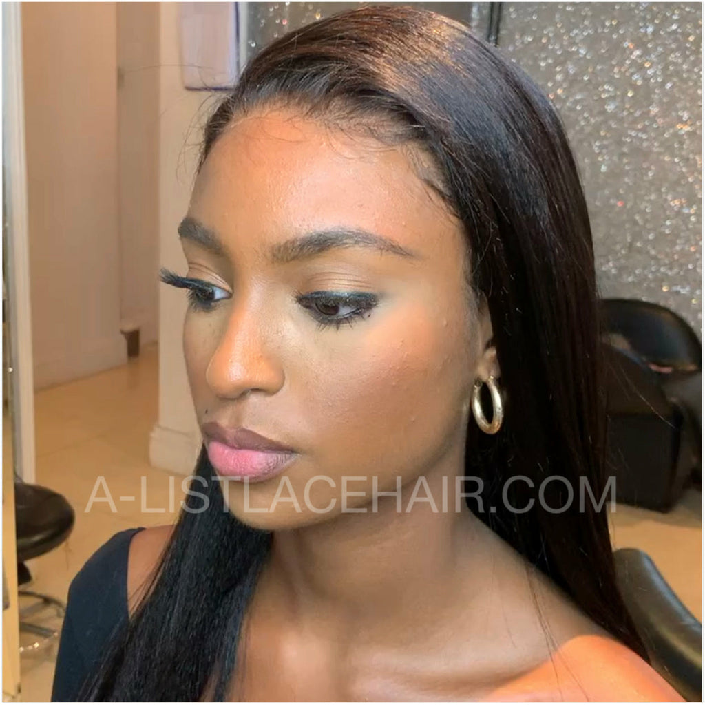 The JASMAY Unit - Glueless Full Lace Wig Straight - Light Yaki
