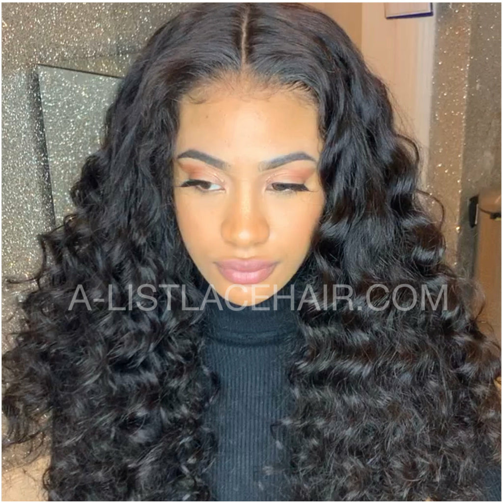 The TAYLOR Unit - Glueless Full Lace Wig - Deep Wave