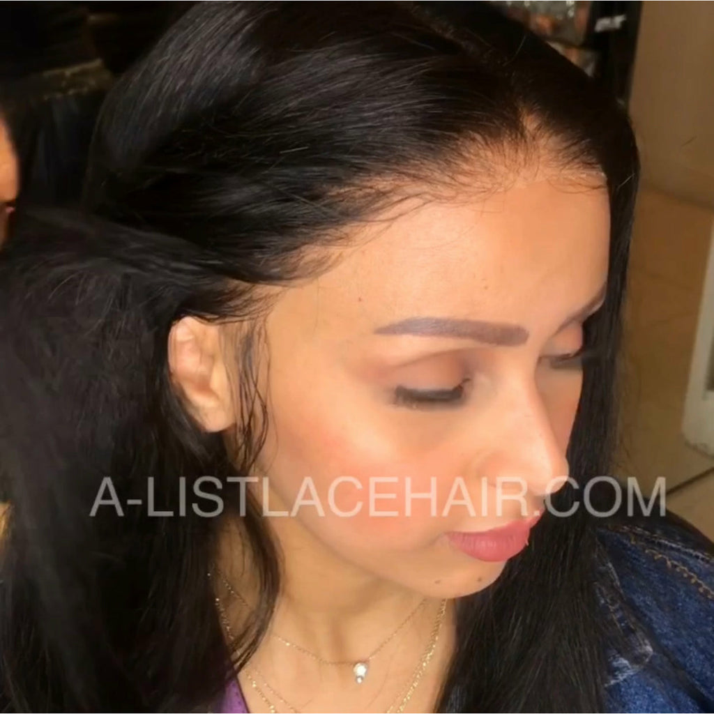 The DELILAH - Glueless Full Lace Wig Silky Straight (Transparent)