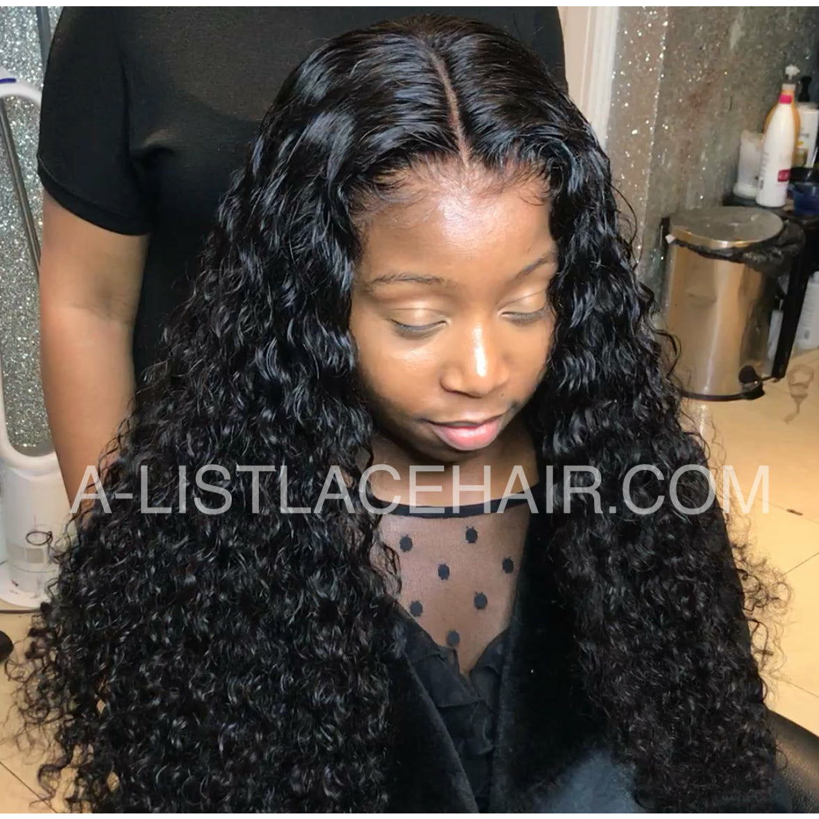 The SERENA Unit - Glueless Full Lace Wig - Exotic Curl