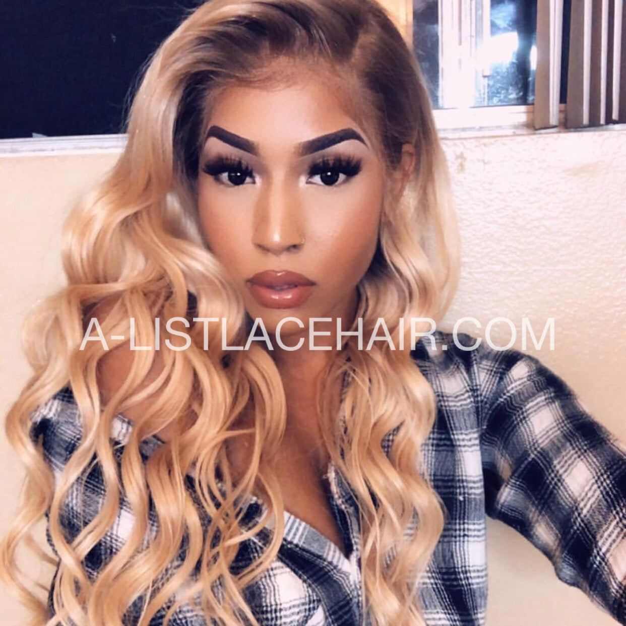 The ASIA - Glueless Full Lace Wig Body Wave