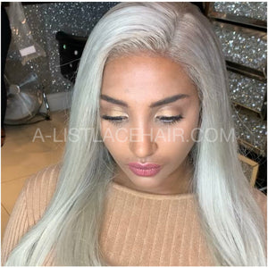 The STORMI - Glueless Full Lace Wig Straight (styled) #60 soft root custom coloured