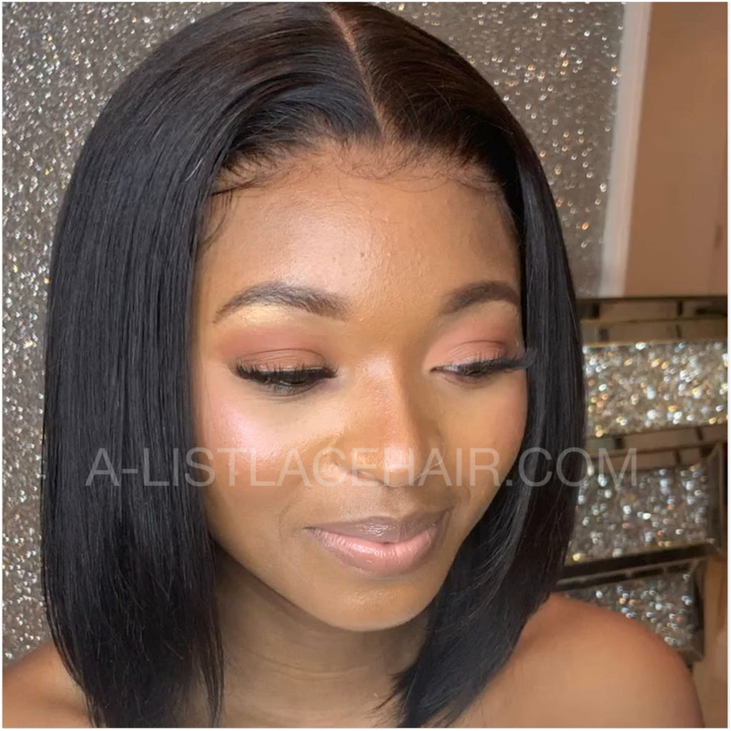 The BERNI Unit - Glueless Full Lace Wig - Short Bob Cut - Silky Straight
