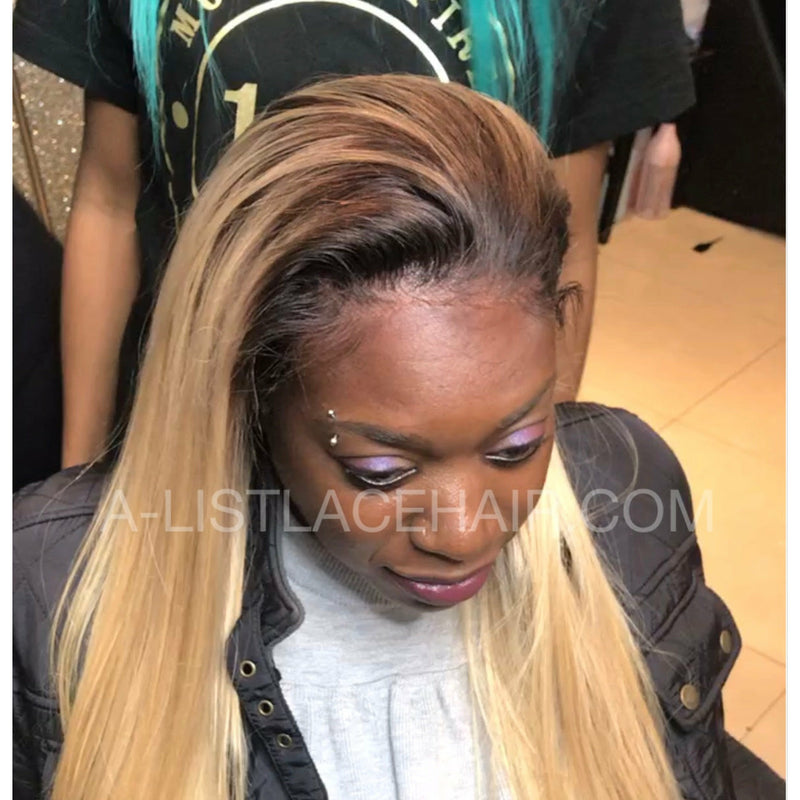 The TENI Unit - Glueless Full Lace Wig Straight