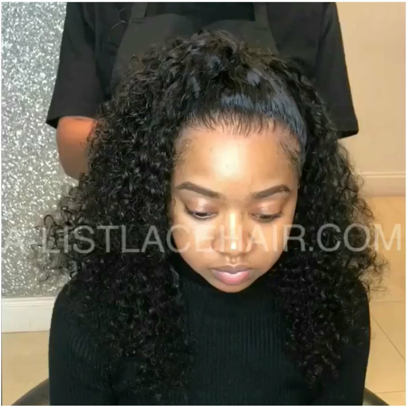 The LULU Unit - Glueless Full Lace Wig - Exotic Curl