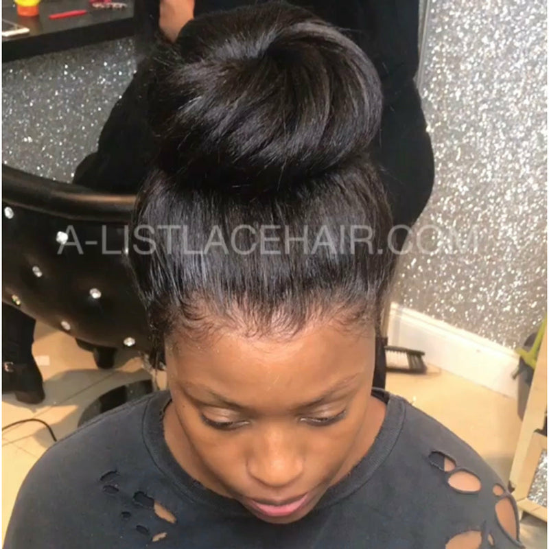 The MAS Unit - Glueless Full Lace Wig Straight - Light Yaki