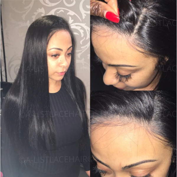 The MIA - Glueless Full Lace Wig Silky Straight