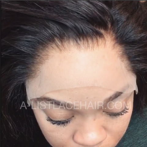 The AMIRAH - Glueless Full Lace Wig Light Yaki