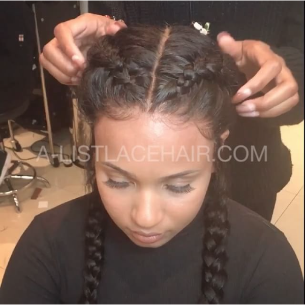 Awe Inspiring The Tiffany Glueless Full Lace Wig Body Wave 2 Braids A List Schematic Wiring Diagrams Amerangerunnerswayorg