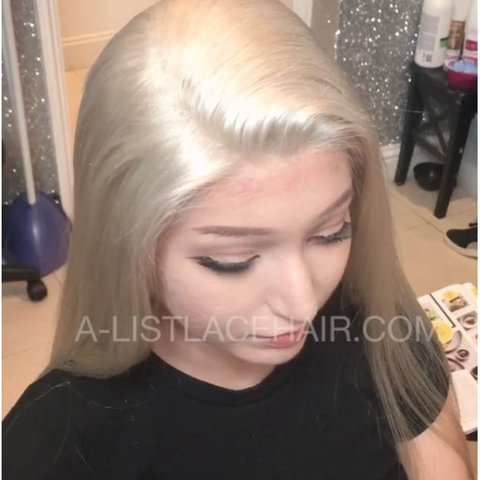 The TOLA - Glueless Full Lace Wig - Straight Light Yaki