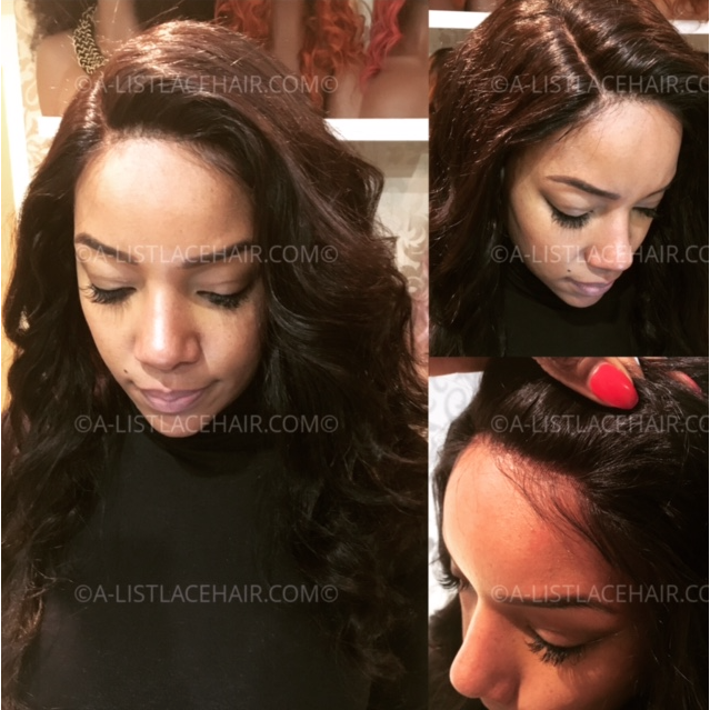 The LYZETTE - Glueless Full Lace Wig Body Wave