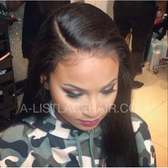 The DENISE Unit - Glueless Full Lace Wig Straight - Light Yaki