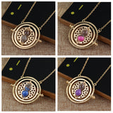 Hermione Time Turner Hourglass  Necklace