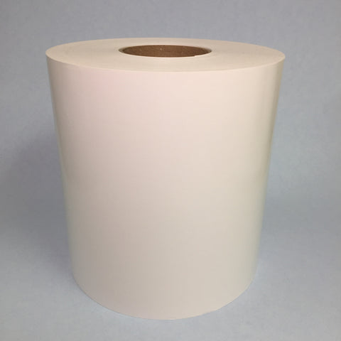 "6""x500' Continuous Clear Polypropylene Label Stock for Afinia L801"