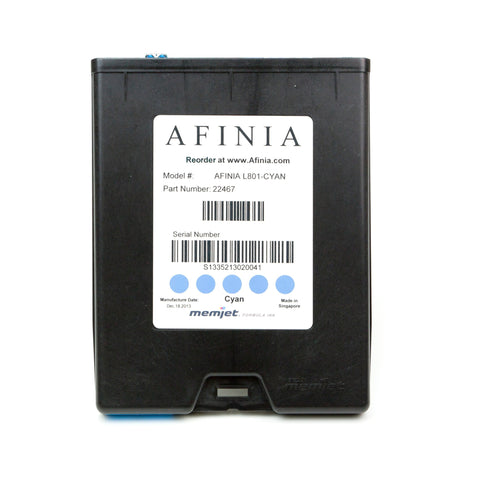 Afinia L801 Memjet Cyan Ink Cartridge