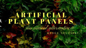 Artificial Plant Screening - An Un-Real Alternative