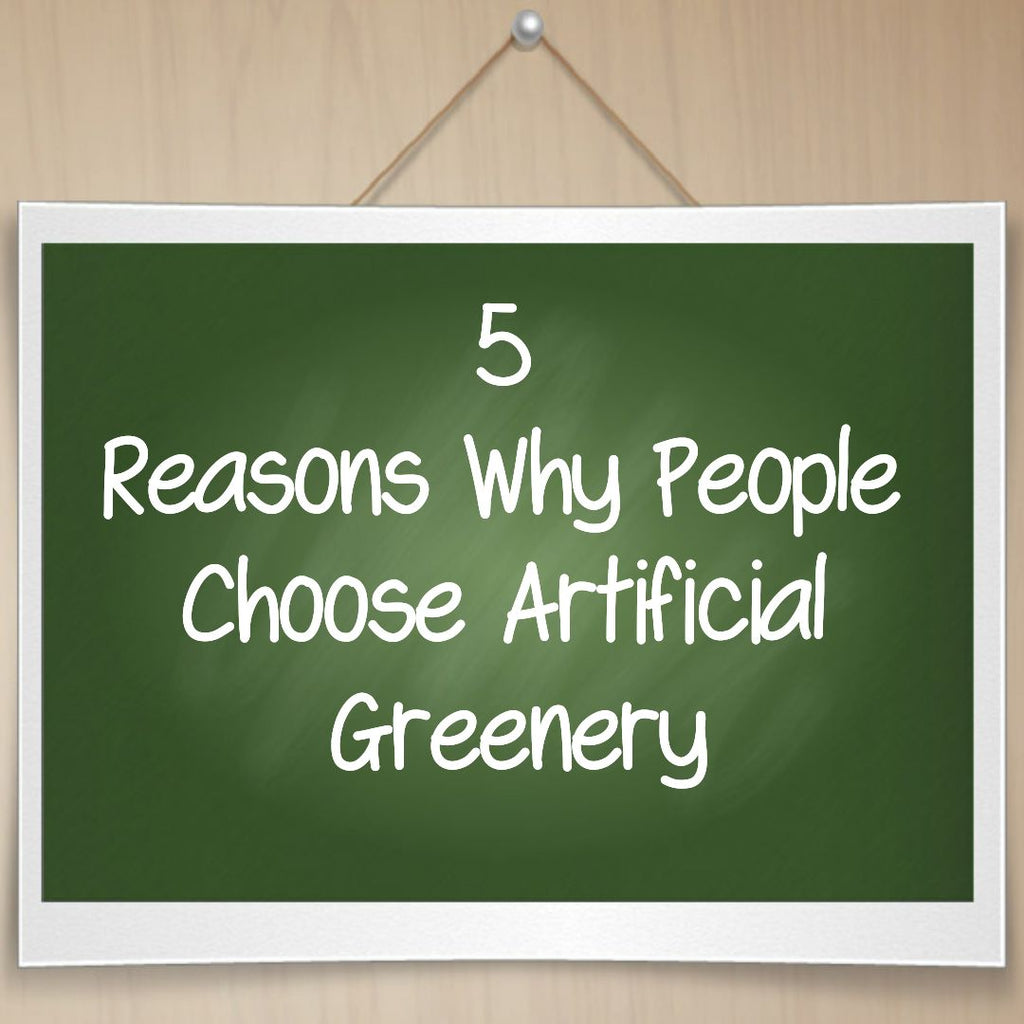 Artificial Vertical Gardens - 5 reasons why people choose them