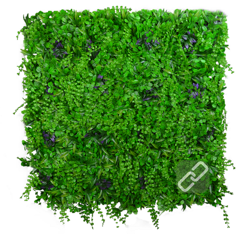 *New* Purple Poppin' - Artificial Garden Hedge Screen