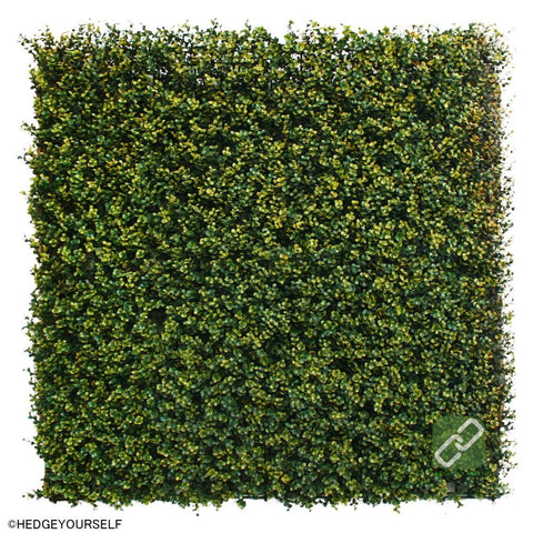 Hedge Panel - Bush Yellow - Artificial Garden Screen