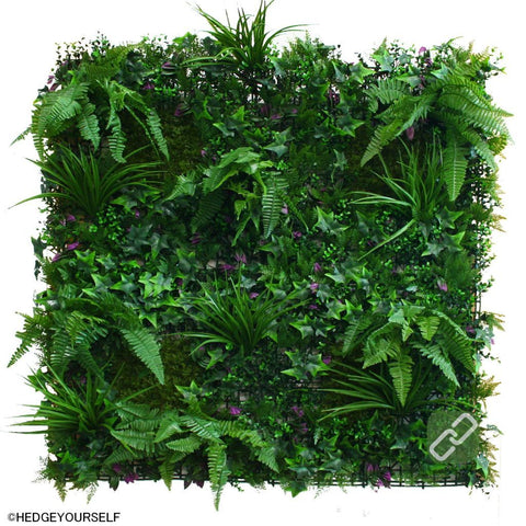 Hedge Panel - Fern Forest - Artificial Vertical Garden