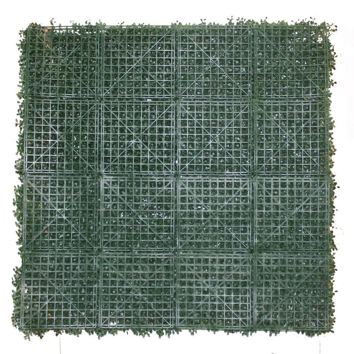 Hedge Panel - Flat English Box - Artificial Garden Screen