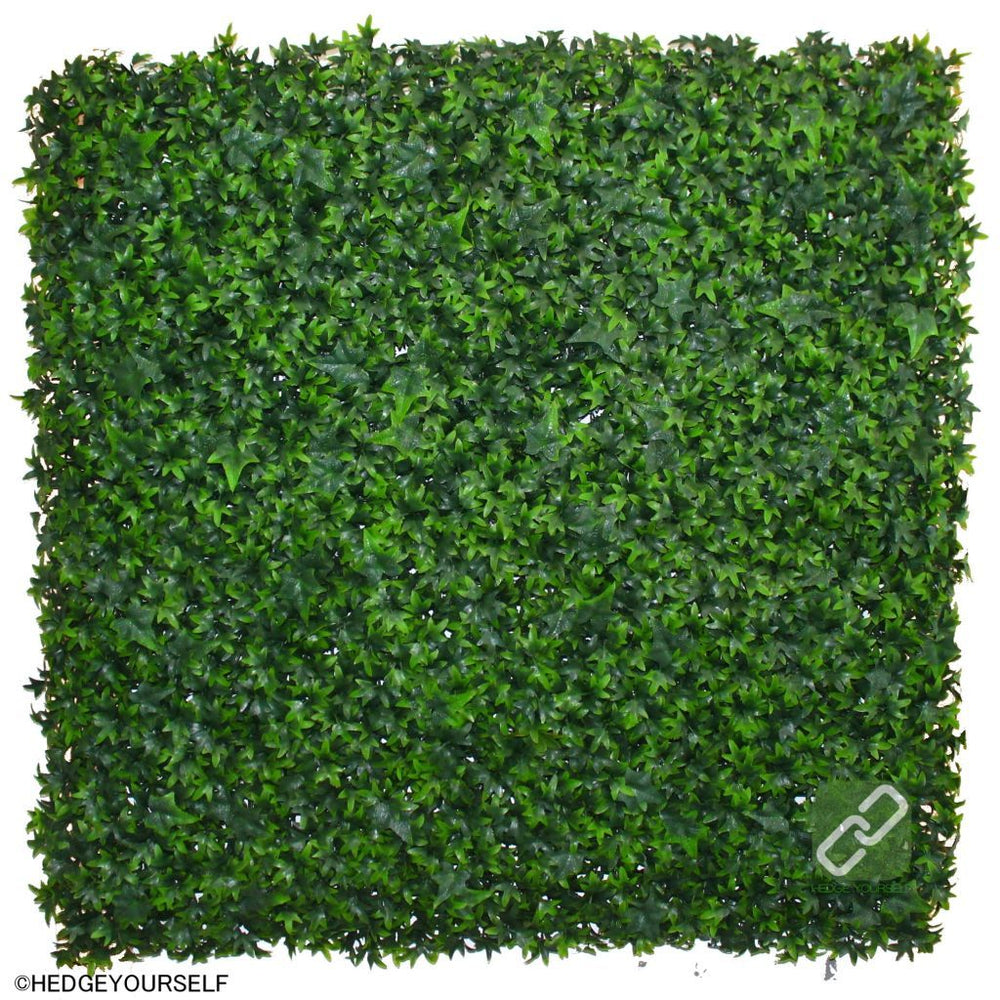 Hedge Panel - Artificial Ivy Leaf - Artificial Garden Screen