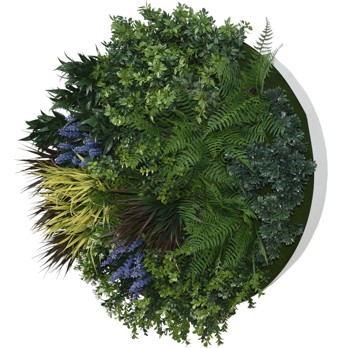 Lavender Moon | Green Wall Disk - 80cm | Hedge Yourself