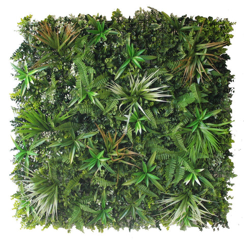 Hedge Panel - Lush Meadow - Artificial Vertical Garden