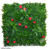 Hedge Panel - Rosaceae - Artificial Vertical Garden
