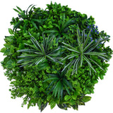 Hedge Panel - Round And Round The Garden  | Green Wall Disk - 80cm