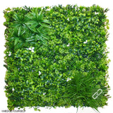 Hedge Panel - Trilliam Snow - Artificial Vertical Garden