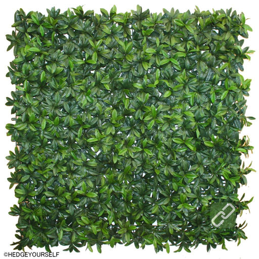 Hedge Panel - Welcome To The Jungle Green - Artificial Garden Screen