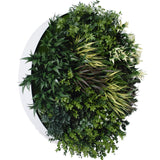 Hedge Panel - What Goes Around  | Green Wall Disk - 80cm
