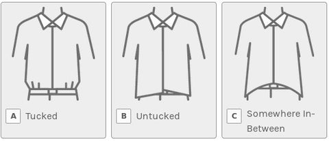 Do you usually tuck in your button-up shirts? Do you usually tuck in your button-up shirts?