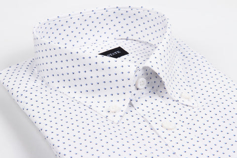 Hampton White - Slim Fit Dress Shirt Gallant State